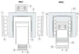 victorian fireplace parts diagram desa s mantel