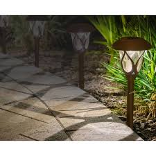 Smartyard Small Led Pathway Lights 6 Pack Smartyard Small Led Pathway Lights 6 Pack Patio Ideas