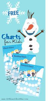 Free Frozen Themed Chore Charts And Reading Charts Reward