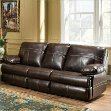 interesting leather sofa with miracle saddle bonded upholstery and recliner colored saddle leather