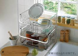 favier stacking dish drainer basket draining basket draining basket draining rack dish drainer basket draining tray dish rack draining set deep kitchen