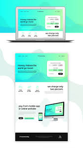 Money Transfer Website Template Free Psd Download - Download Psd