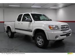 2004 Toyota Tundra SR5 Access Cab 4x4 in Natural White - 455483 ...
