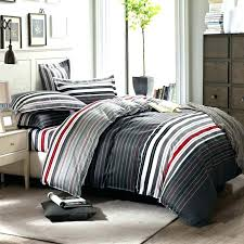 red and white striped sheet grey and white striped bedding red stripes printing set queen bed duvet quilt covers bedclothes pillow grey and white striped