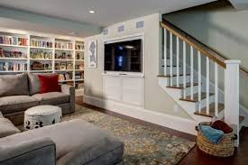 Finish Basement Design Extraordinary 48 Finished Basement And Rec Room Ideas Basement Redo Pinterest