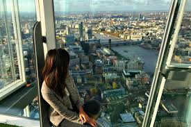 sky high visit the shard in london