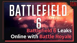 Battlefield 6 Battle Royale Leaks Online - YouTube