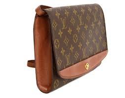 louis vuitton clutch bag. louis vuitton vintage \u002791 monogram canvas clutch bag ghw 2 louis vuitton