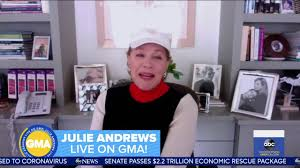 Julie Andrews on Good Morning America 26 March 2020 - YouTube