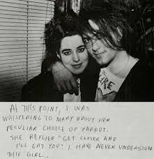 Robert Smith & Mary Poole. One of my favorite love stories of all ... via Relatably.com