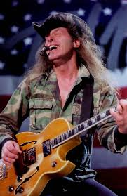 ted nugent is known as the motor city madman for his gonzo persona guitar playing and right wing punditry he was in the detroit band the amboy