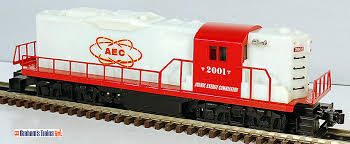 Lionel 6-28527 AEC Atomic Energy Commission GP-9 Glow-In-The-Dark ...