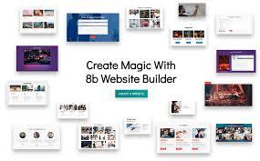 online free website creation 8b simplest website builder