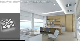 Office Space Interior Design Free 3dmax Model Preview 3d model  Download  Link