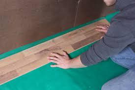 Superb Lay Your Floor On The Top Of Visqueen 6Mil PE Vapor Barrier