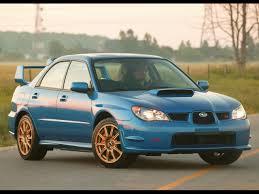 2006 Subaru Impreza WRX STI - Side Angle - 1280x960 Wallpaper