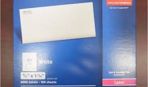 Avery 5167 Labels Avery 1 2 X 1 3 4 Label Template Avery 5167 Easy Peel White Return