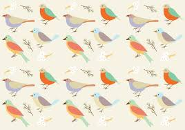 Bird Pattern Gorgeous Birds Pattern Background Download Free Vector Art Stock Graphics