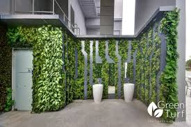 artificial green wall feature wall