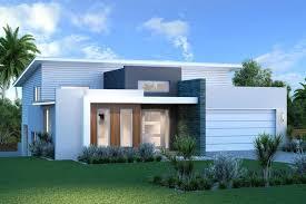 exterior design ideas for split level house white