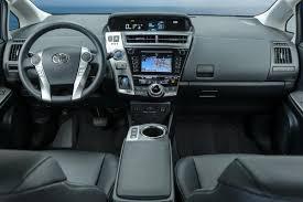 2017 Toyota Prius v Dashboard - Photos - Gallery: 2017 Toyota ...