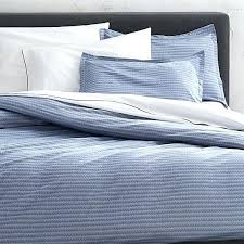 dylan blue duvet covers and pillow shams crate and barrel blue ticking twin duvet cover