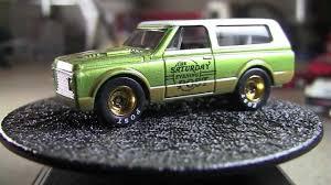 Hot Wheels 2012 Saturday Evening Post 1970 Chevy Blazer - YouTube