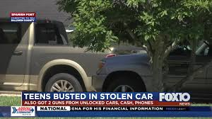 Guns recovered, juveniles arrested after weekend car break-ins in ...