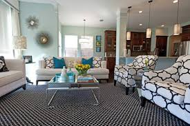 black white living room. Living Room Color Scheme With Black, White And Also Powder Blue Black
