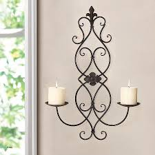 hanging votive candle holders bulk lovely adeco iron and glass vertical wall hanging fleur de