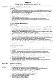Service Coordinator Resumes Services Coordinator Resume Samples Velvet Jobs