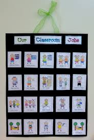 Pre K Job Chart Pictures 65 Punctual Preschool Classroom Job Chart Ideas