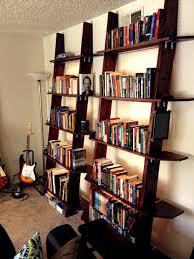lighting bookshelves. introduction leaning bookshelves with led lighting