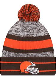 Free shipping on orders over $25 shipped by amazon. New Era Cleveland Browns Brown Cuff Pom Mens Knit Hat 5905456