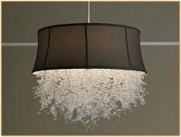 chandeliers with drum shades home assets shade chandelier remodel for attractive house drum shade chandelier with crystals prepare