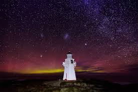Australis Southern Lights New Zealand Nights Aurora Australis Our Galaxy Above