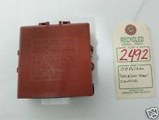 chevrolet prizm other 2000 chevrolet prizm receiver door control module oem 89741 01010 2492