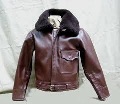b 2 horsehide leather flight jacket lost worlds