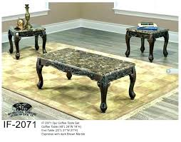 espresso coffee table set large espresso coffee table e if set finish oval 3 piece espresso