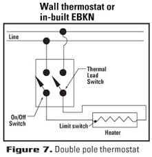 choose the right thermostat Cadet Heater Wire Size For at Cadet Heater Wiring Diagram Right Side