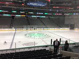 American Airlines Center Section 119 Dallas Stars