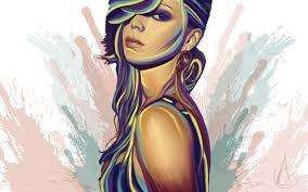 Painting Art Girl HD desktop wallpaper ...