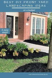best diy front yard landscaping ideas