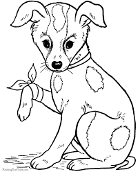Dog Coloring Pages Free And Printable Pinterest Kleurplaten Pictures