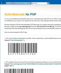 Apache Server - Barcodes mit PHP - Barcode Software