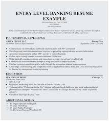Banking Resume Samples Banking Resume Sample Entry Level Best Entry Level Bank Teller