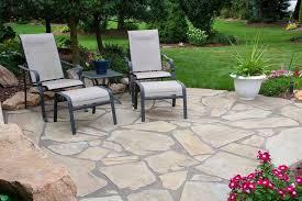 flagstone patio cost