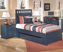leo panel bed with trundle twin size by ashley furniture b103 ashley leo twin bedroom set