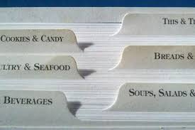 Index Card Recipe Template Recipe Index Cards Tab Dividers Print Food Book Card