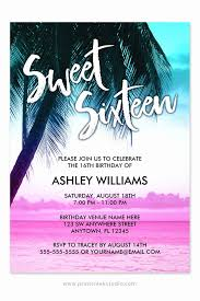 birthday invitation sweet 16 party invitation templates new sweet 16 invitation cards inspirational free invitation templates